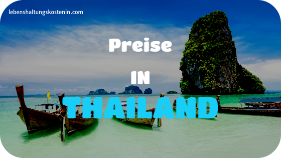 Preise und Löhne in Thailand